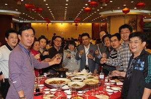正保远程教育举行成立十三周年庆祝晚宴