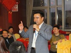 正保远程教育董事长、CEO兼总裁朱正东先生现场致辞