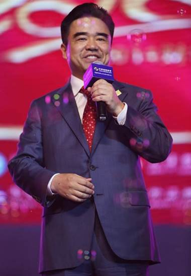 正保远程教育董事长、CEO、总裁朱正东先生现场致辞